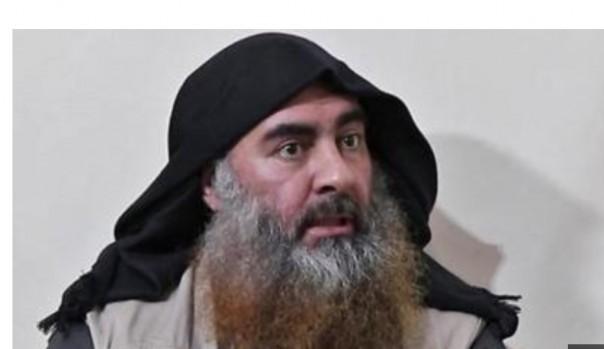 Baghdadi pada penampakannoertam  terakhirdi video April 2019.