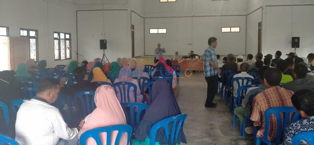 Rapat Anggota Koperasi BBDM di Gedung Serba Guna Bujang Kelana Sungai Pakning beberapa hari lalu.