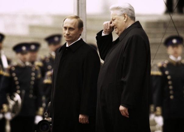 Putin ketika pertama kali diangkat  menjadi Presdien Rusia