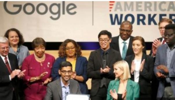 Ini bukan pertama kalinya Ivanka Trump mewakili Gedung Putih di acara bertema teknologi.(FOTO/cnn)