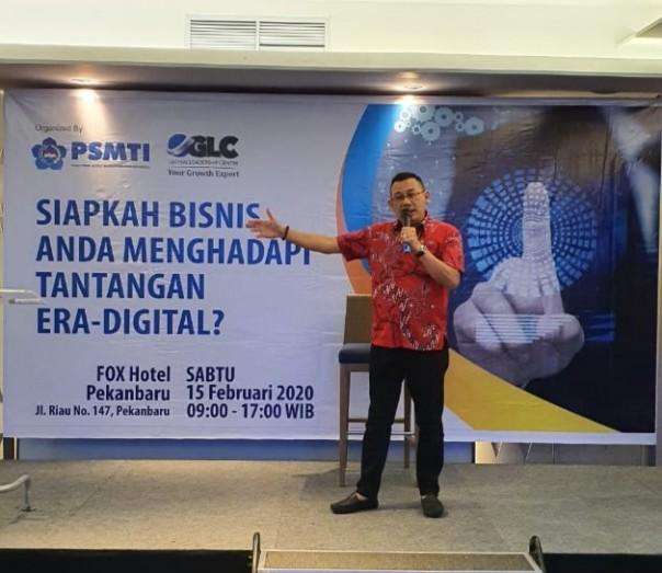 PSMTI Riau Taja Seminar Bisnis dI Era  Digital