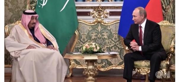 Vladimir Putin dan Raja Salman