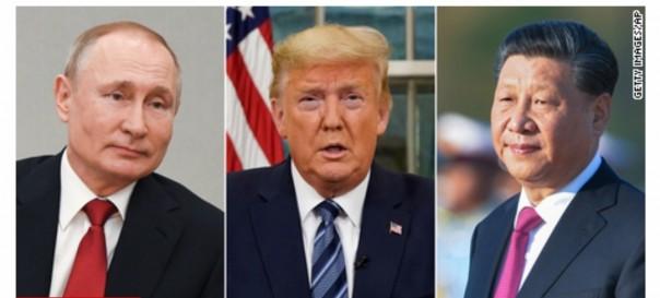Putin,Trump and Xi Ping