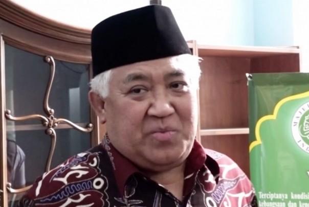 Ketua Dewan Pertimbangan Majelis Ulama Indonesia (Wantim MUI), Din Syamsuddin /ist