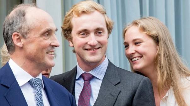 Pangeran Joachim bersma ayah dan saudaranya. (FOTO/ AP)
