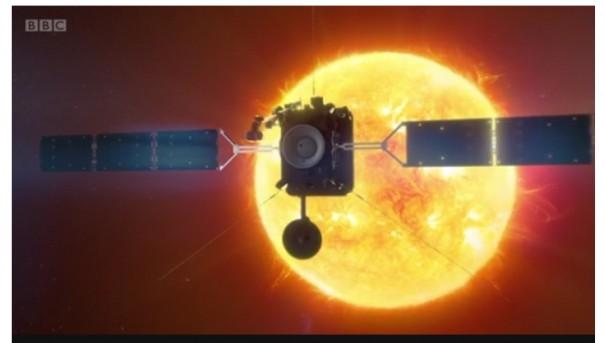 Screenshoot video dari BBC soal Soale Orbiter