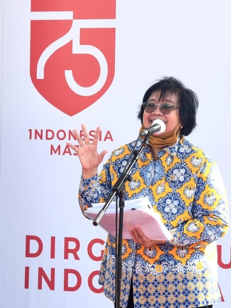 Menteri LHK Siti Nurbaya. (Foto: ist)