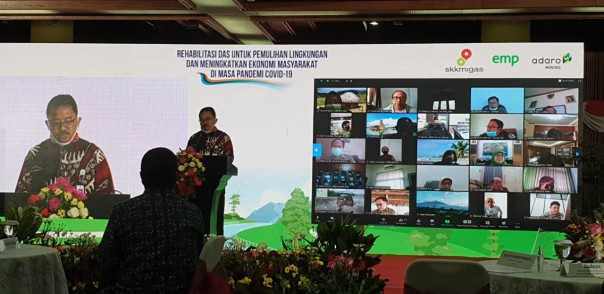 SKK Migas – EMP Malacca Strait SA Resmikan Program Penanaman Rehabilitasi DAS di Taman Nasional Tesso Nilo