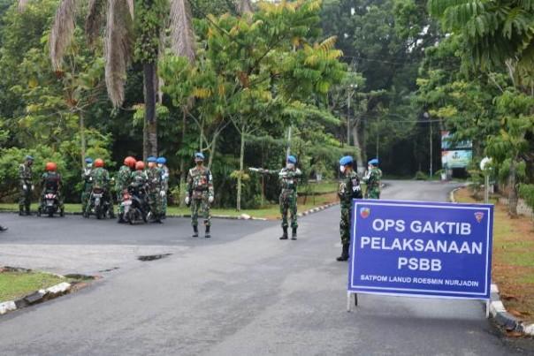 Operasi Gaktib Penerapan PSBB di Pekanbaru beberapa waktu lalu/ist