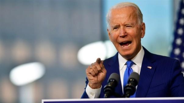 Calon presiden dari Partai Demokrat Joe Biden menggambarkan rencana saingannya Donald Trump untuk pemungutan suara cepat untuk menggantikan Ginsburg sebagai 'latihan kekuatan politik mentah' (FOTO/Reuters)