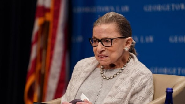Ginsburg mengatakan dia ingin presiden baru dilantik sebelum penggantinya di pengadilan dipilih (FOTO/Reuters)