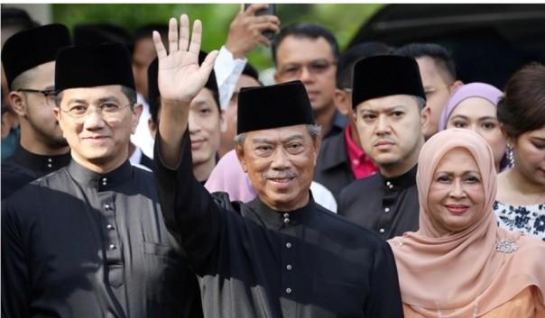 Perdana Menteri Malaysia Muhyiddin Yassin mengatakan bahwa kemenangan di negara bagian Sabah dapat membuka jalan bagi pemilihan nasional lebih awal [Foto/ Reuters]
