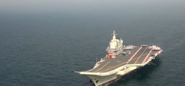 Cina melenturkan otot militer selama pandemi virus korona (Screenshoot video CNN/SRc)