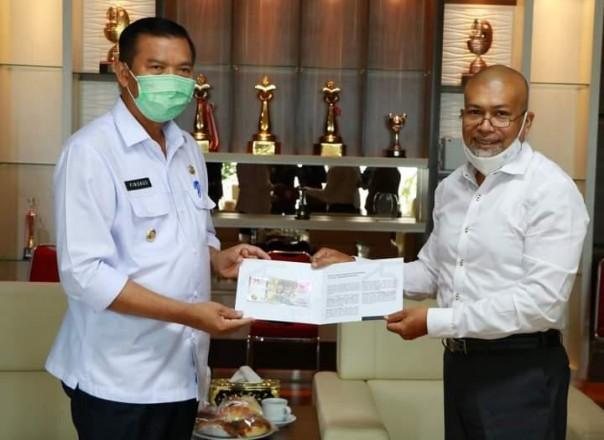 Walikota Pekanbaru Dr H Firdaus, MT/adv