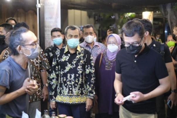 Gubernur Riau (Gubri) Syamsuar saat menjadi keynote speaker /ist