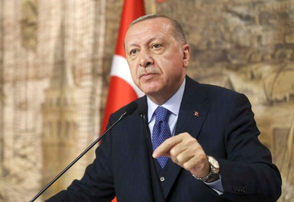 Presiden Turki Tayyip Erdogan (int)