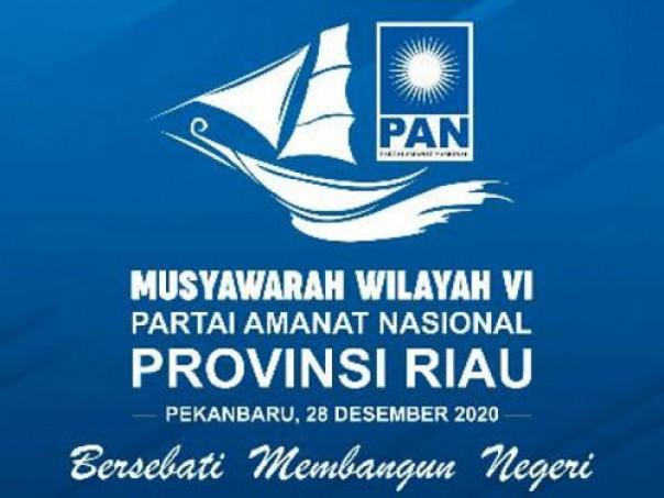 Logo Muswil VI PAN Riau. (istimewa)