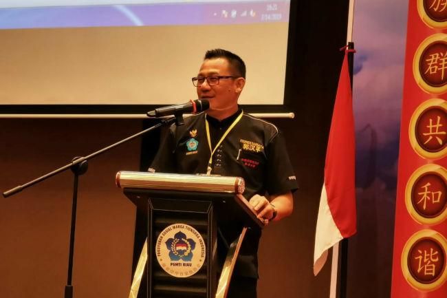 Ketua PSMTI Riau, Stephen Sanjaya (Foto.dok)
