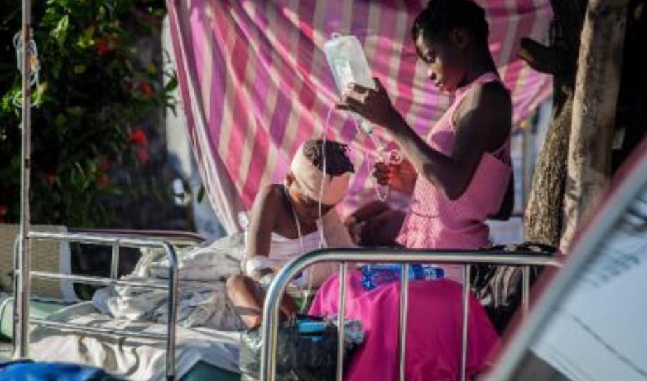 Kini, Korban Gempa Haiti Hampir 1.300  Depresi Tropis  Lanjut Ancam Kehancuran Haiti