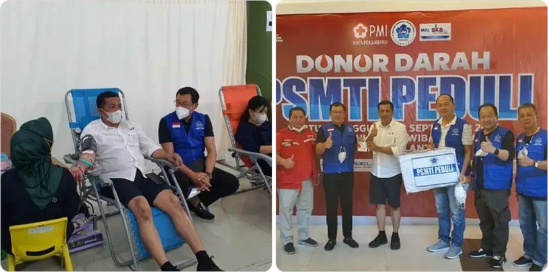 PSMTI Peduli  Berhasil Kumpul 746 Kantong Darah dan 18 Plasma Konvalesen