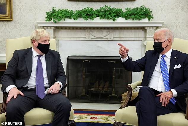 Boris Johnson dan Joe Biden Bertemu di Gedung Putih