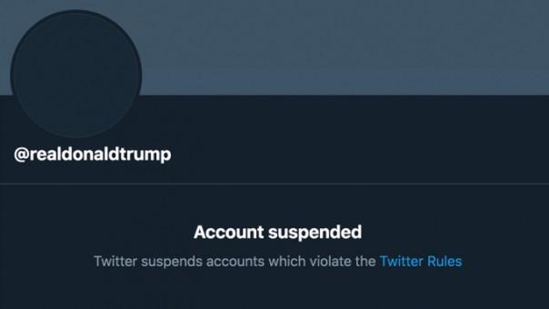 Twitter secara permanen menangguhkan Donald Trump dari platform