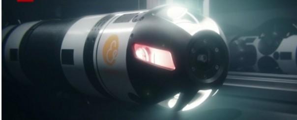 Robot otonom akan bekerja di dasar laut . (Sumber Foto: Screeshoot video CNN)
