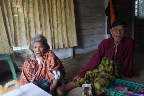 Kakek Syafri di kediamannya Jalan Bambu Kuning, RT.01/RW.01, Kelurahan Rejosari, Kecamatan Tenayan Raya, Pekanbaru/ist