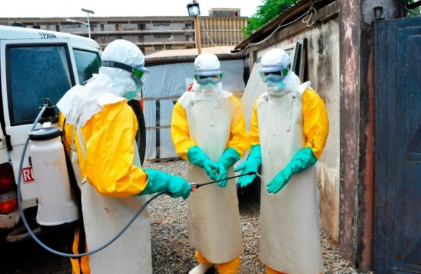 Kematian tersebut adalah yang pertama di Guinea sejak epidemi 2013-2016 yang menyebabkan 11.300 orang tewas di seluruh Afrika Barat [foto/ AFP)