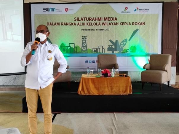 Pjs Kepala SKK Migas Perwakilan Sumbagut, Haryanto Syafri/ist