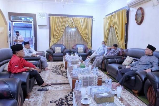 Wakil Bupati Kepulauan Meranti AKBP (Purn) H. Asmar, menggelar silahturahmi dengan Komadan Kodim/ist